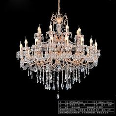 Traditional Vintage Decoration Candle Crystal Lamp