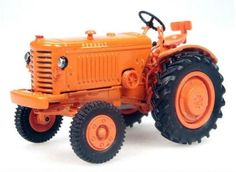RENAULT R 3042 - 1950 - Tractors - Big machines - Die-cast | Hobbyland Scale model аgricultural machinery made of metal / Die-cast / in 1:43 scale manufactured by Universal Hobbies.