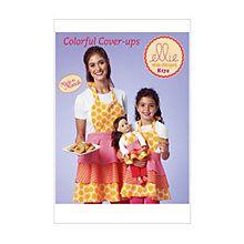 Buy Kwik Sew Women's, Girls' and Dolls' Matching Aprons Sewing Pattern, 0172 Online at johnlewis.com