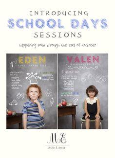Media PA Children's Portrait Photography Delaware County ME Photo & Design Media PA Photographer School Days Sessions