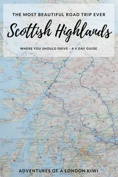If you are undecided about road tripping through the Scottish Highlands, just go. Take this post, simply get in a car, add a bottle or two of wine for an evening, a couple of snacks, good company and a GPS. That's all you need for an amazing journey of awe-inspiring landscapes, curious beauty and quirky discoveries. Where to go in #Scotland - Scottish Highlands Road Trip Scotland Food, Scotland Travel, Ways To Travel, Travel Tips, Travel Hacks, Beautiful Roads, Beautiful Places, Uk Holidays, We Fall In Love