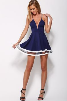 Closer Dress, $55 + Free express shipping http://www.hellomollyfashion.com/closer-dress-navy.html