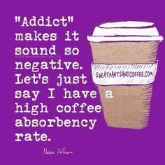 High coffee absorbency rate.....