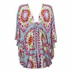 Poncho Dress, Mara Hoffman, Beach Wear, Vera Bradley Backpack, Dress Outfits, Dresses, Tatting, Summer, Tanks