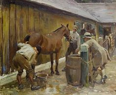 Find artworks by Sir Alfred James Munnings (British, 1878 - on MutualArt and find more works from galleries, museums and auction houses worldwide. Painted Horses, Henri Matisse, Vincent Van Gogh, Monet, Alfred Munnings, Horse Posters, Horse Silhouette, Impressionist Art, Vintage Artwork