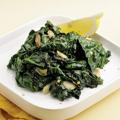 Simple Sauteed Spinach Recipe - EatingWell