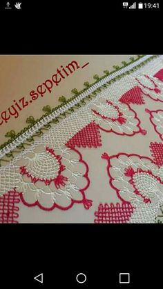 Needle Tatting, Needle Lace, Istanbul, Needlework, Knit Crochet, Diy And Crafts, Embroidery, Stitch, Knitting