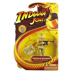 Indiana Jones Kingdom of the Crystal Skull Russian Soldier Action Figure @ niftywarehouse.com #NiftyWarehouse #IndianaJones #GeorgeLucas #HarrisonFord #Movies