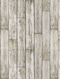 Peeling Planks (W0050/02), a feature wallpaper from Clarke and Clarke, featured in the Wild Garden collection.