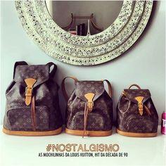 NOSTALGISMO: AS MOCHILINHAS DA LOUIS VUITTON - Fashionismo