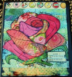 cover for scrapbook life journal art journal