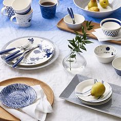 Buy Royal Doulton Pacific Tapas Plates, Set of 6 Online at johnlewis.com