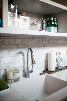 Butler's Pantry + Laundry Room Sink Details With Elkay
