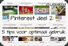 Pinterest deel 2 - 5 tips voor optimaal gebruik - Lespakket