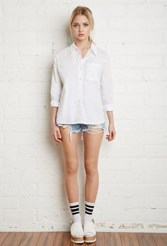 Classic Pocket Shirt | Forever 21 - 2000132593
