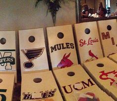 Groomsmen gifts with their favorite team