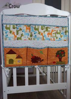 Crib Pocket Organizer ❤ Органайзер на детскую кроватку ~ Country Crow