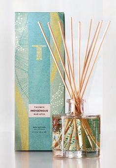 LOVE Blue lotus...my bedroom smells great! Pin-It-To-Win-It: Thymes Blue Lotus Reed Diffuser