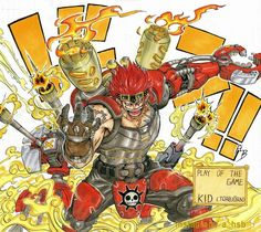 One Piece x Overwatch Crossover :o   ONE PIECE GOLD