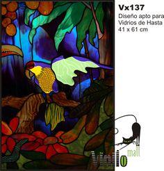 Vitraux Vitro Vinilo Decorativo Transluc Renová Tus Vidrios - $ 442,51 en MercadoLibre
