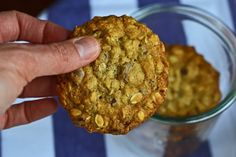 Gluten-Free Chewy Oatmeal Chocolate Chip Cookies