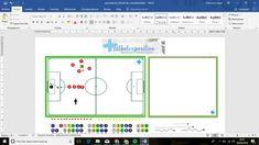 Fútbol en positivo te ofrece la posibilidad de realizar todos los gráficos para los ejercicios de entrenamiento de fútbol con nuestra Pizarra Táctica en formato word, que sobre todo es sencilla y práctica. Puedes descargar el archivo gratis en nuestra web.