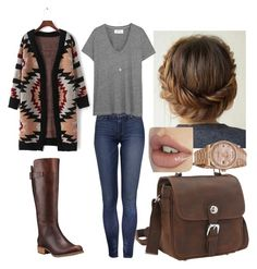 """""""Untitled #255"""" by emmasorrell on Polyvore featuring Timberland, The Great, Vagabond Traveler, Rolex and Dorothy Perkins"""