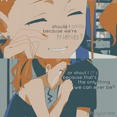Anime: Anohana (c)owner Sad Anime Quotes, Manga Quotes, Sad Quotes, Tears Quotes, Depressing Quotes, Life Quotes, Teen Wolf, Anime Triste, Pomes