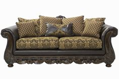 Mor Furniture For Less: The Jupiter Mayberry Fluer Sofa | Mor Furniture For  Less