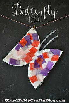Butterfly {Kid Craft}