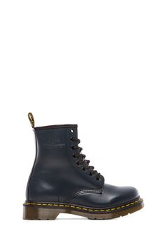 92e44a9a40f Dr. Martens 1460 W 8-Eye Boot in Navy Lace Ankle Boots