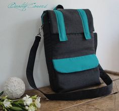 Backpack Padded Convertible  Customizable for by QUALITYcovers, $86.00