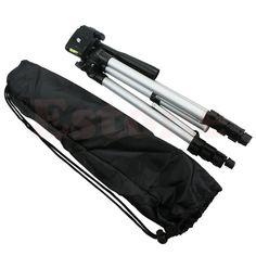 Pro Aluminium Camera Monopod Tripod Stand For Canon Nikon Cameras Camcorder /Bag #Unbranded