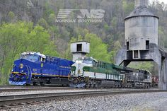 N and Southern by Norfolk Southern, via Flickr