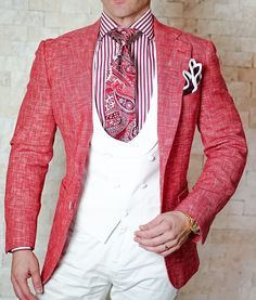 Check out this epic look with one of our most amazing new linen jackets! #sebastiancruzcouture