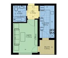 garsoniera simpla Viva Residence Floor Plans, Diagram, Floor Plan Drawing, House Floor Plans