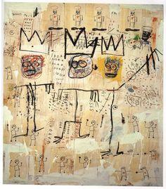 Jean-Michel Basquiat - The Ruffians, 1982