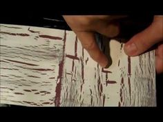 Crackle Paint, and Distress your furniture with Elmer's glue and CeCe Caldwell paint! - YouTube