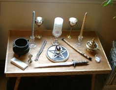 In this post, we'll take a look at how to setup your first altar as well as what items you should use. We'll also look at where to get such magickal items as we