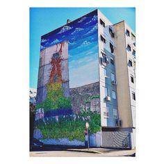 Sai che a Roma... questo è il murale di Blue a Rebibbia? Ph. @CannavicciSte