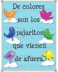 De Colores - Printable Spanish Language Wall Art