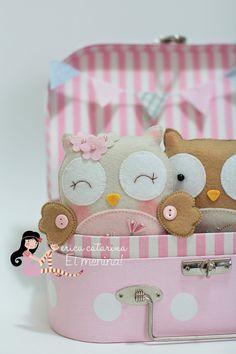 DIY Cute Felt Owl - FREE Sewing Pattern / Tutorial