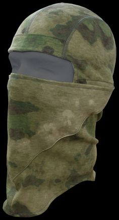 A-TACS FG  TACTICAL FACE MASK  (NINJA MASK) I don't usually go for these, but this one has features I like.