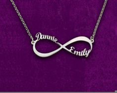 Gold plated Personalized infinity Bracelet - 2014 Personalized Gifts collection. This gorgeous and personal bracelet is the perfect gift for