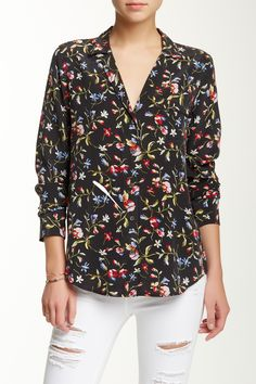 Keira Silk Print Blouse by Equipment on @nordstrom_rack