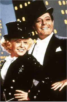 Ginger y Fred : foto Federico Fellini, Giulietta Masina, Marcello Mastroianni