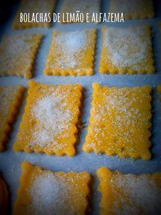 donabimby: Bolachas de Limão e Alfazema