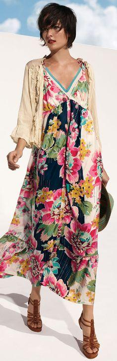 Sleeveless Floral-Print Button-Front Long Dress, Petite