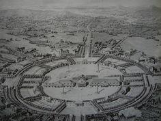 Second projet pour la Saline royale d'Arc-et-Senans - Ledoux