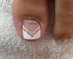 Nail Art Designs Videos, Toe Nail Designs, Pedicure Nail Art, Toe Nail Art, Cute Pedicure Designs, Purple And Pink Nails, Nail Saloon, Feet Nail Design, Cute Pedicures